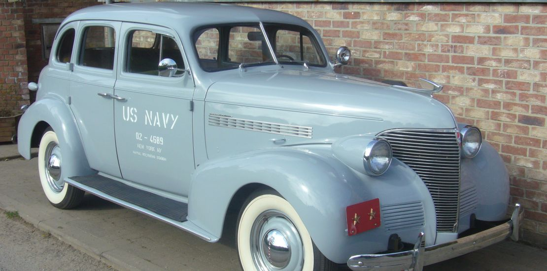 FleetMasters - 1939 Chevrolet US Navy Staff Car