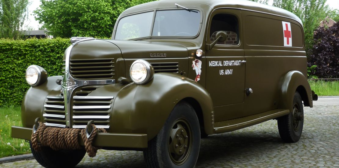 Military vehicles from 1939 till 1945 for sale Jeep, Dodge, GMC ...